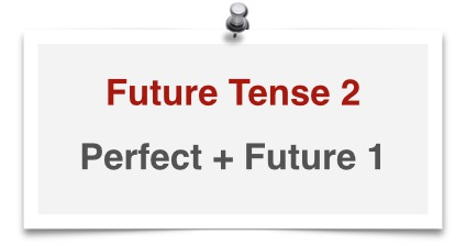 german tenses future tense 2