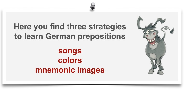 strategies for german prepositions