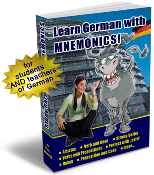 learn German grammar with mnemonics