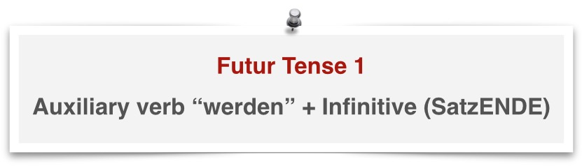 German grammar future tense 1