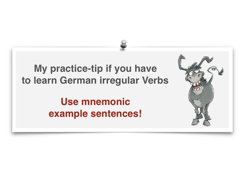 learn German irregular verbs - Learn German Smarter