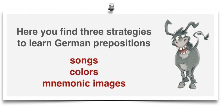 learn German prepositions - Learn German Smarter