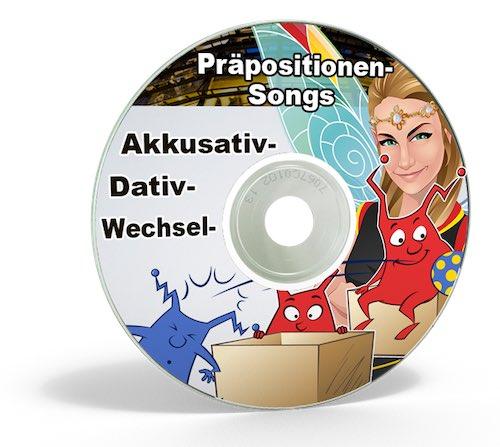 Deutsch lernen - Präpositionen mit Liedern