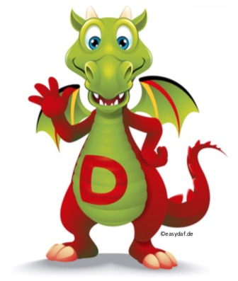Learn German Dative-Verbs easier with the Dative-Dragon