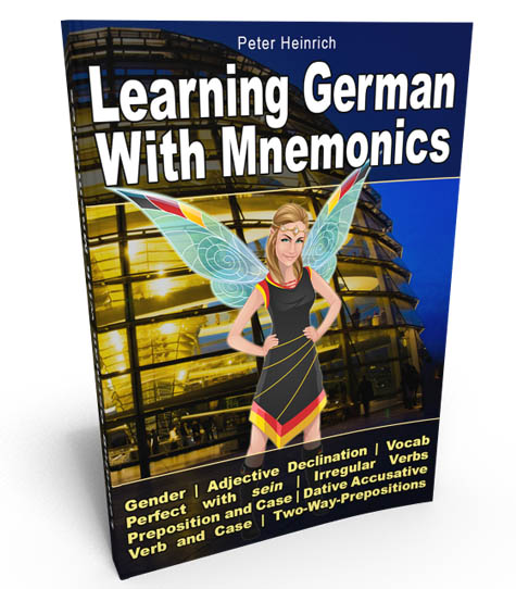 Cover of Deutsch-Elfe® eBook. Learning German with mnemonics.